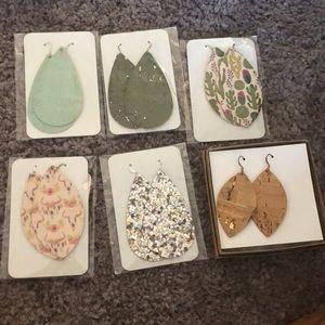 Jewelry - Leather Earring Lot